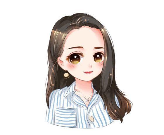 Custom Anime Portrait Chibi Portrait Cartoon Portrait