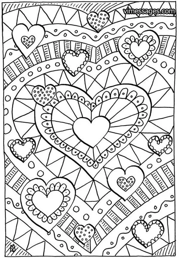 50 Valentines Day Coloring Pages Valentines Day Coloring Pages Printable In 2020 Heart Coloring Pages Love Coloring Pages Valentine Coloring Pages
