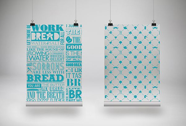 Breadaholics Branding, Packaging, Print Design By: Jeremiah Le
