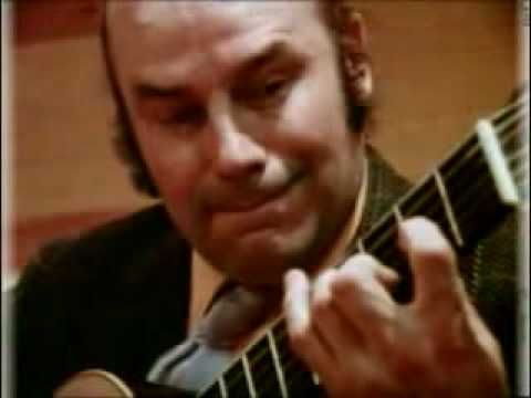Julian Bream - Etude 11 Villa Lobos - YouTube