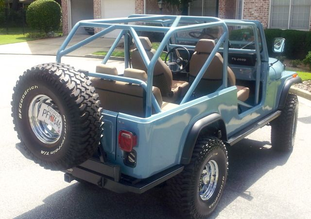 Cj8 Roll Cage 1981 Cj8 Frame Willys Overland Tub Chevy 350