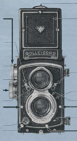 Rolleicord V instruction manual, user manual, PDF manual, free - instruction manual