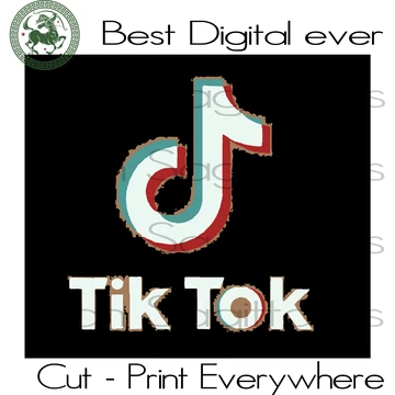 Tiktok Logo Svg Tiktok Music Lover Tiktok Svg Files For Cricut Silh San Sagittarius In 2020 Music Lovers Clip Art Cool Gifts For Kids