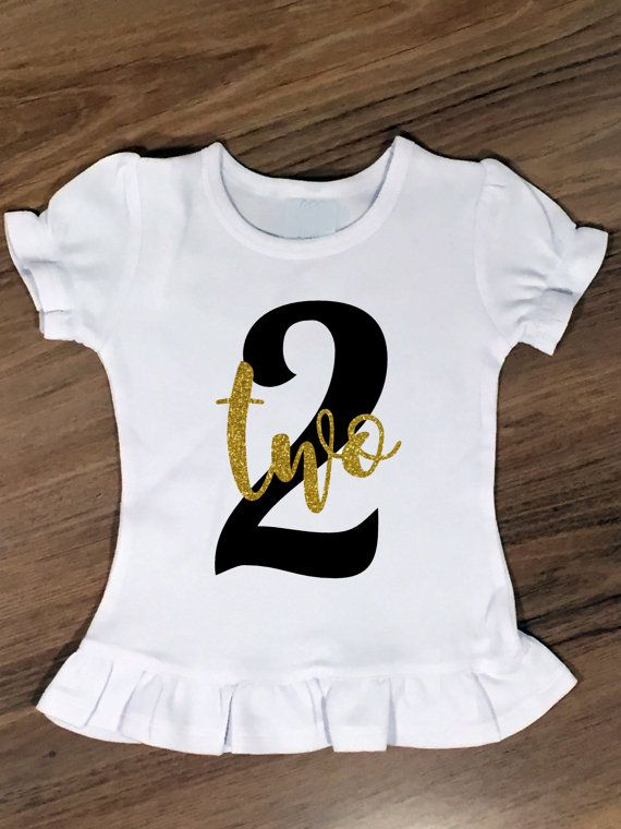 2nd Birthday Shirt Outfit Girls By SaltedMagnolias