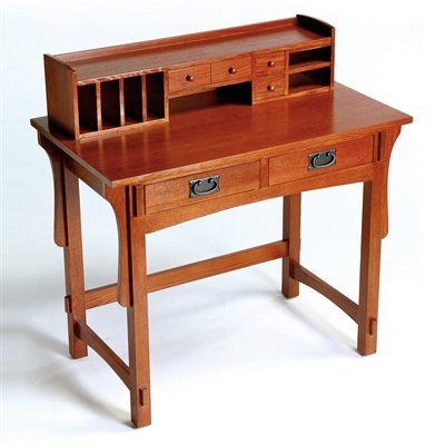 Arts Crafts 9166 Mission Small Desk