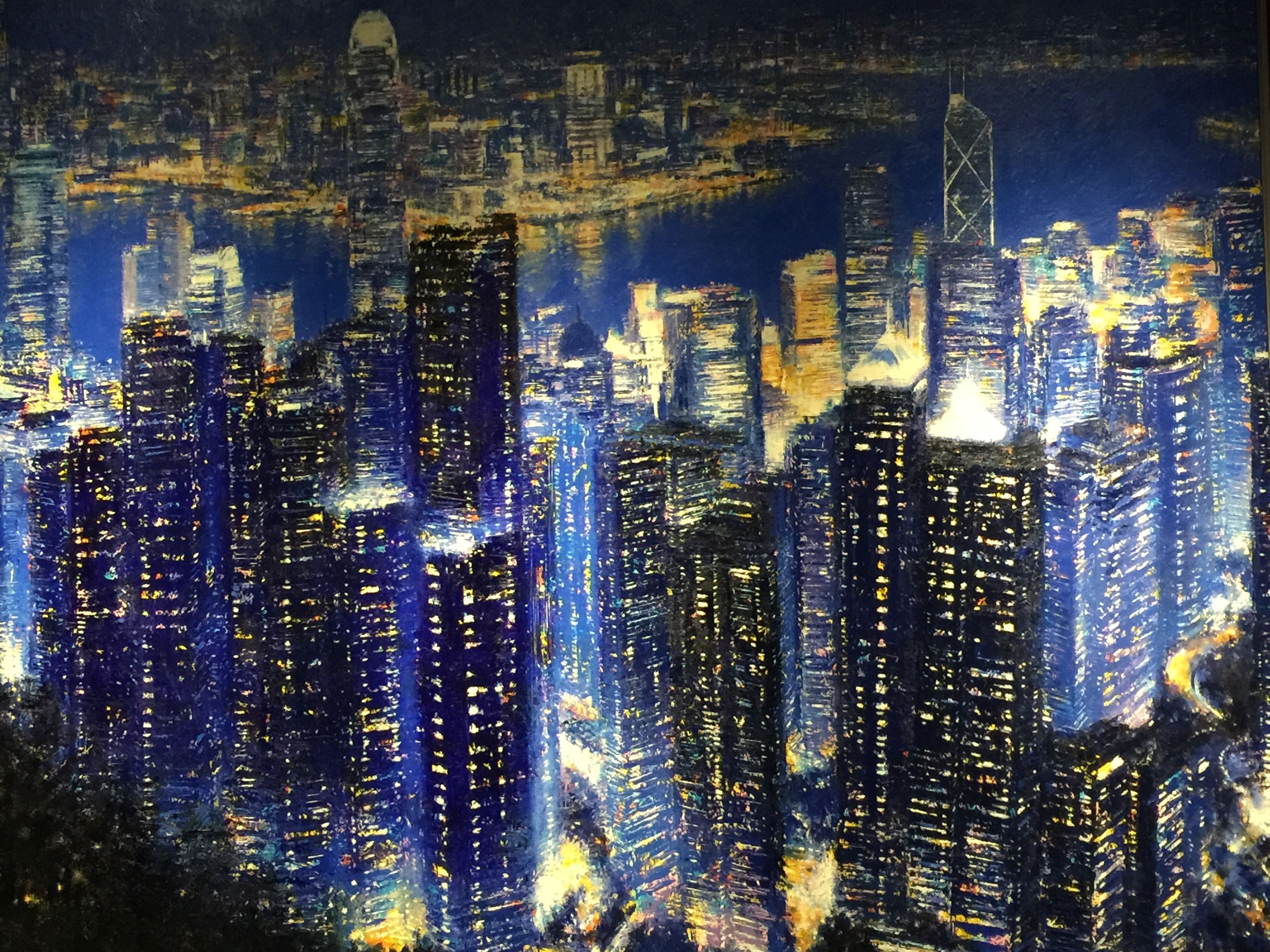 Hong Kong New york skyline, Skyscraper, Skyline