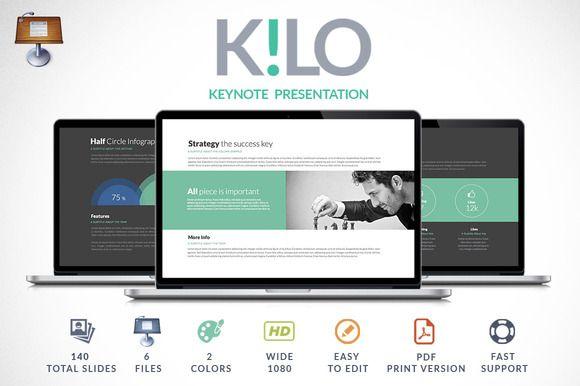 Kilo  Keynote Presentation By Zacomic Studios On Creative Market