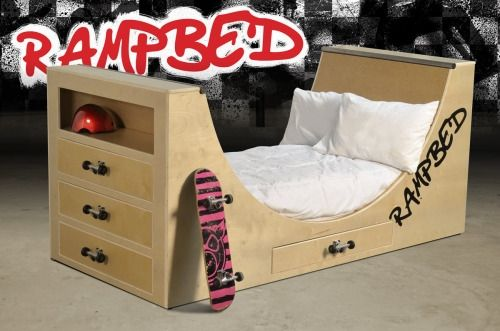 Gabe P. Jasso is raising funds for Rampbed - a skateboard bed where you can  dream of being pro! on Kickstarter! Needing support to help make this  toddler ...