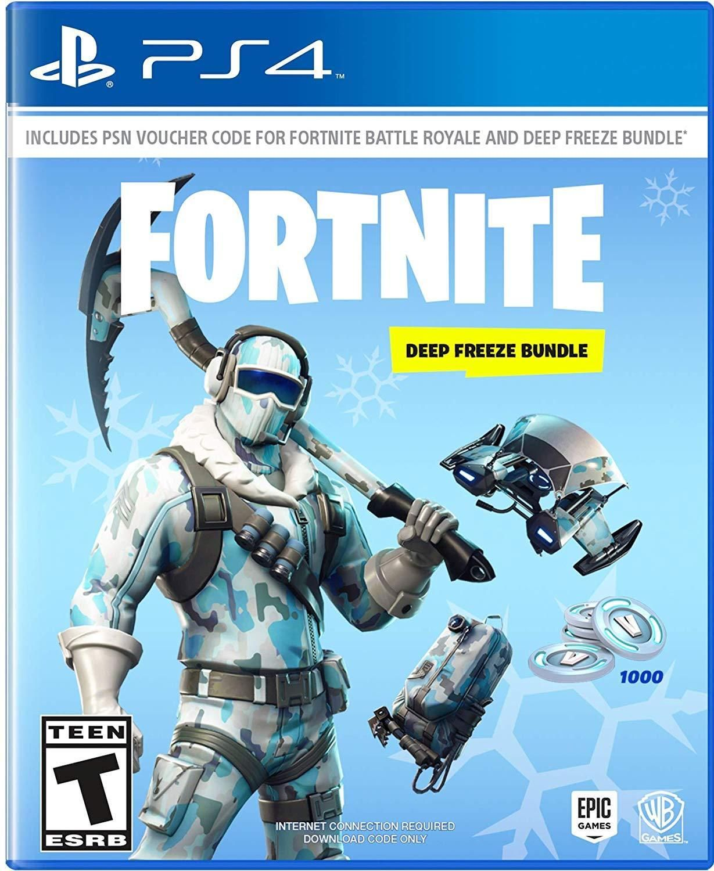 Details About Fortnite Deep Freeze Bundle Sony PlayStation