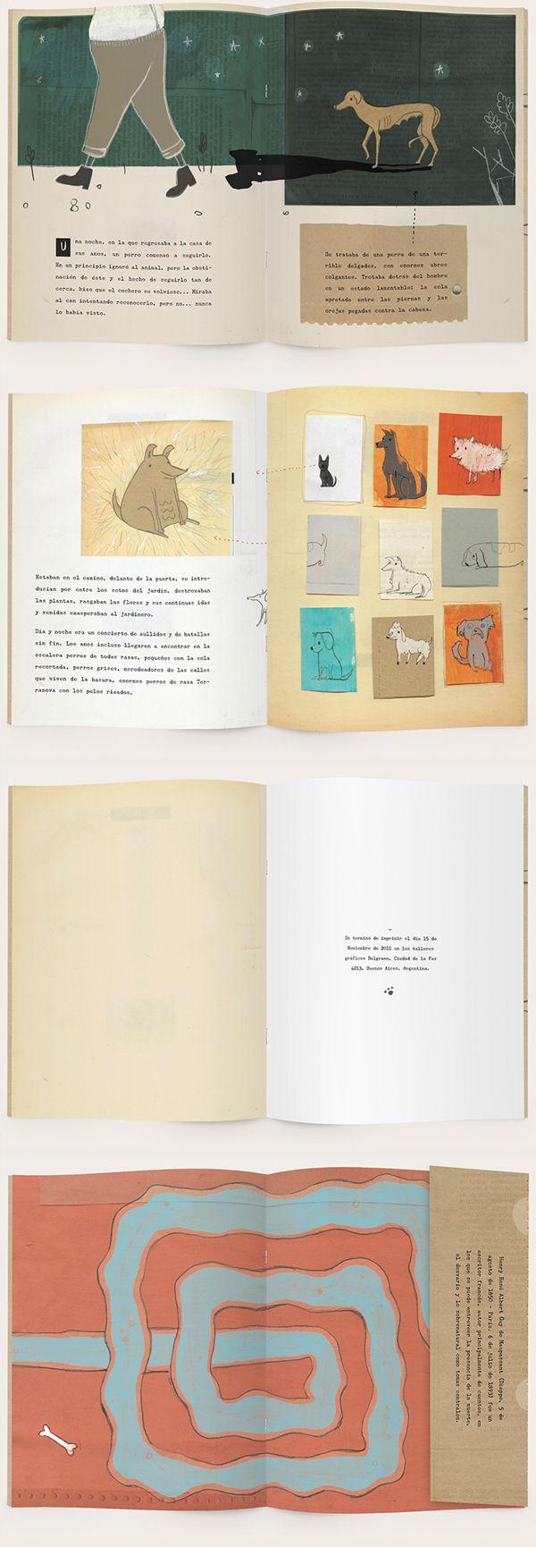 Historia de un Perro by Sofia Copello, via Behance