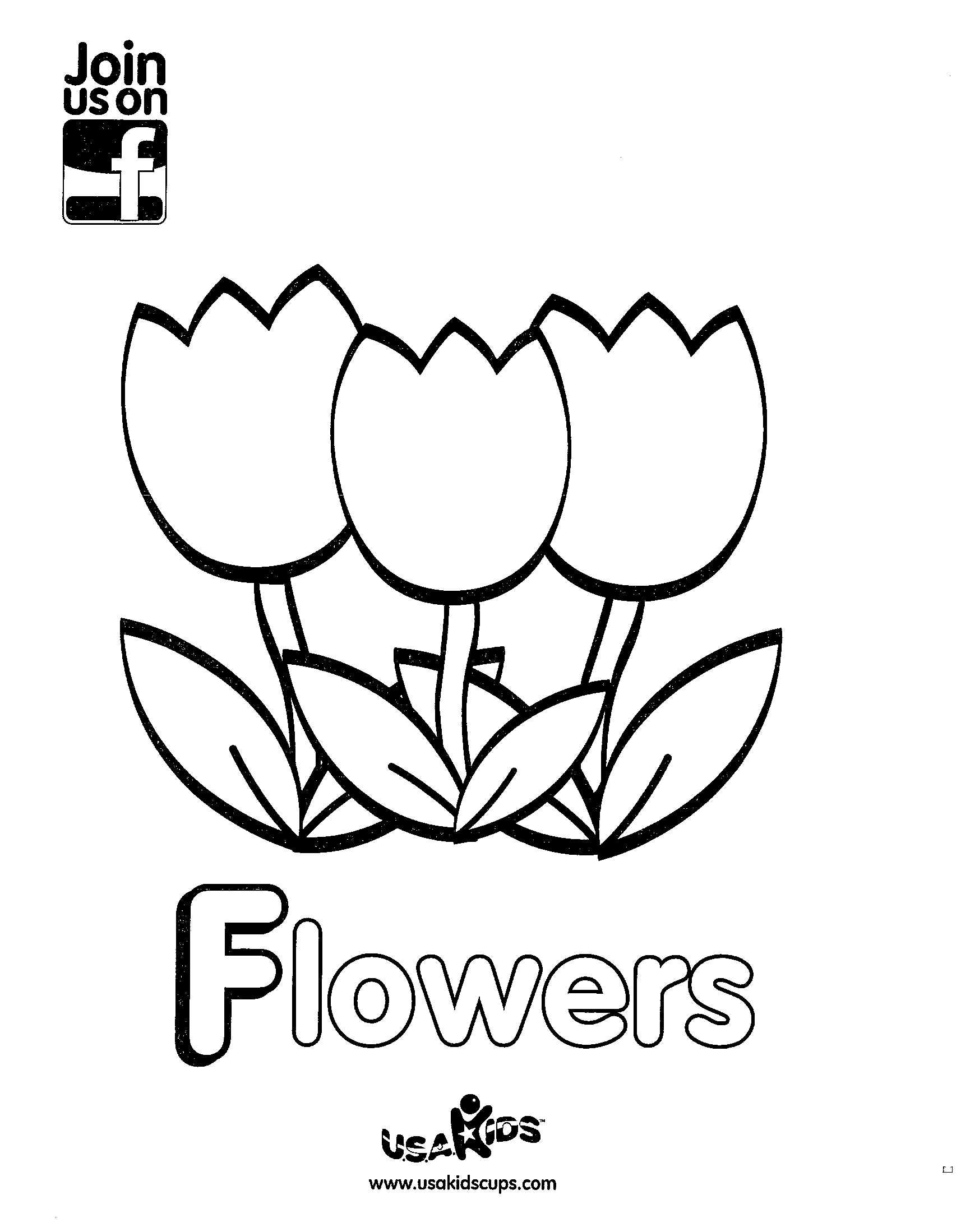 April Showers Bring May Flowers Enjoy Usa Kids Tulip