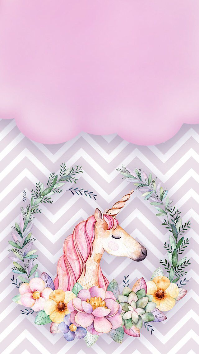 Unicorn Wallpaper Backgrounds Kertas Dinding Ilustrasi Kartun Lukisan Seni