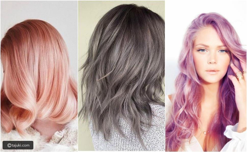 ما هي موضة ألوان صبغات شعر 2019 تاجك Bronze Hair Belliage Hair Metallic Hair
