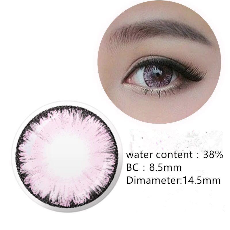 Beautiful big diameter barbie eye color contact lens