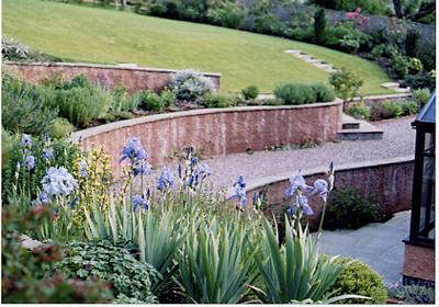 Roger Webster Garden Design Leading Landscape And Garden Designers In The South West Steep Gardens Dorset Garden Sloped Garden