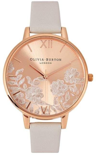 e459fdd8f22e Olivia Burton Lace Rose Gold-plated Watch