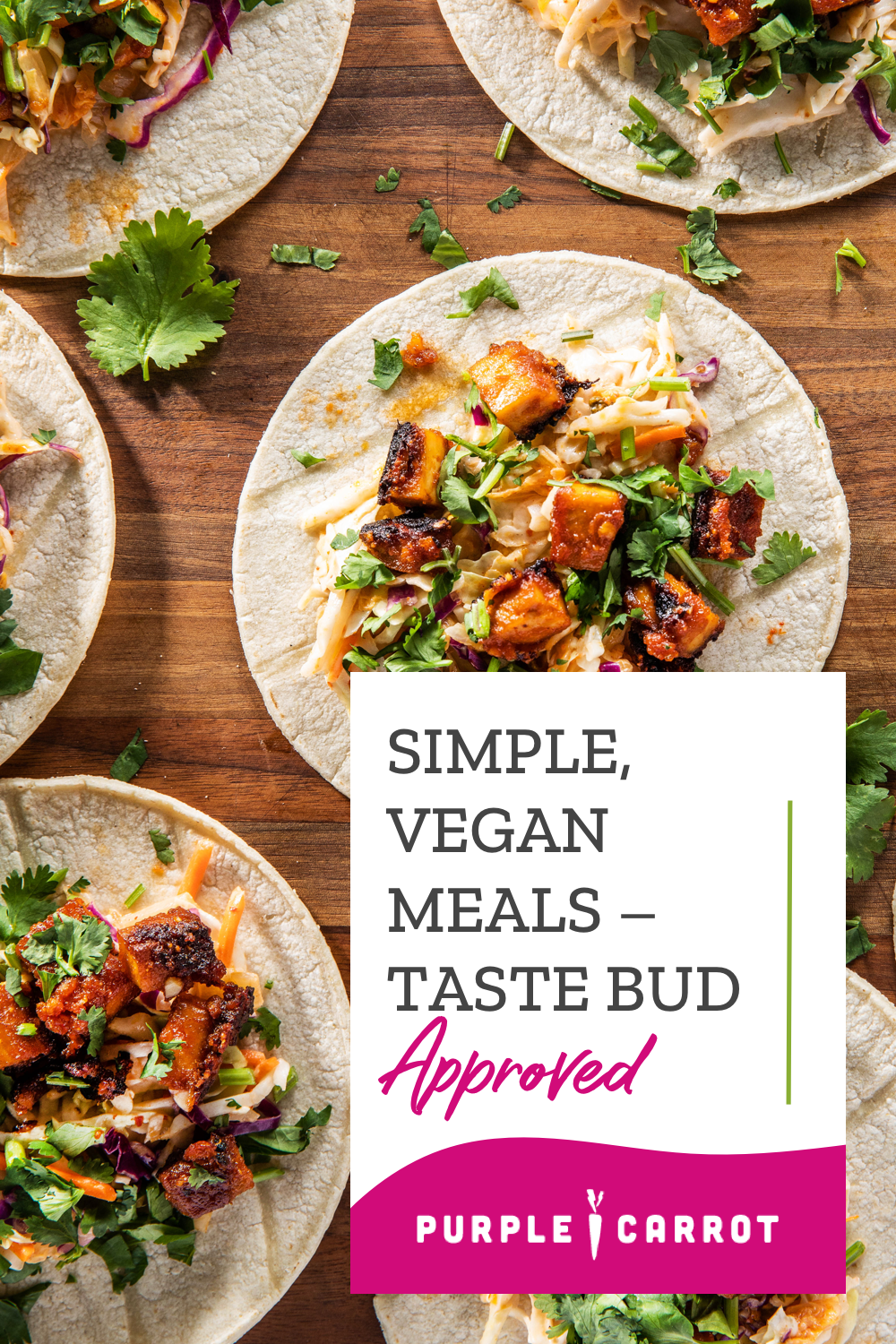 Colorful, creative, and 100 plantbased dishes delivered