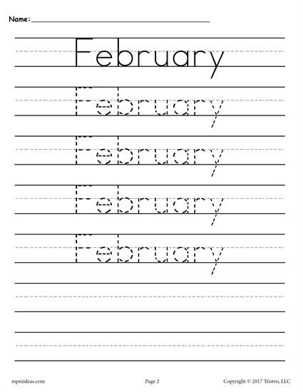12 Months Of The Year Handwriting Worksheets Handwriting Worksheets Printable Handwriting Worksheets Free Handwriting Worksheets