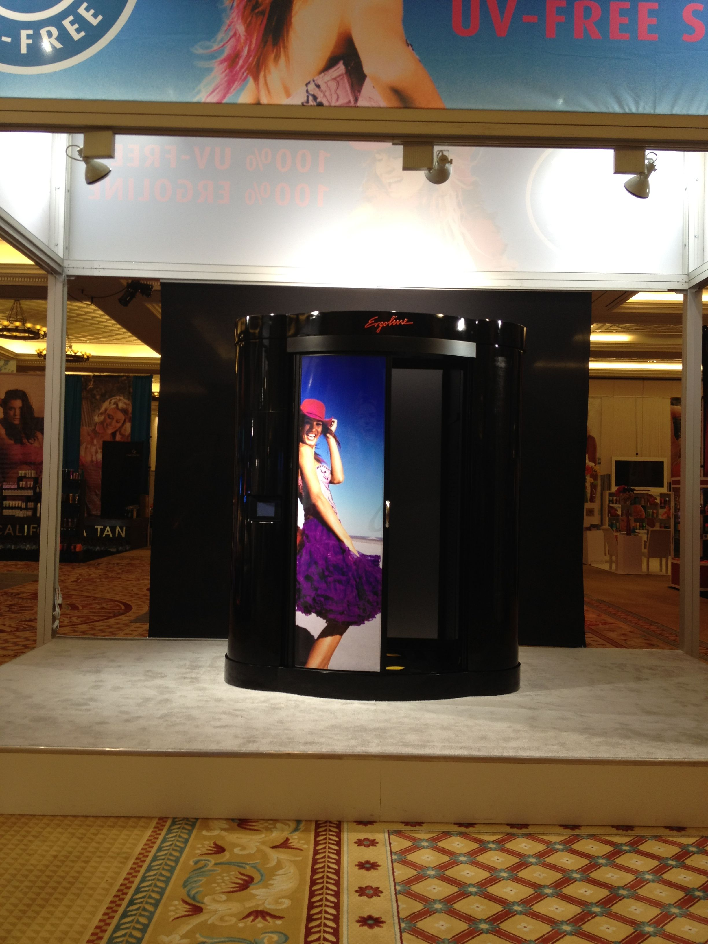 the new ergoline spray tan booth Spray tan booth, Best