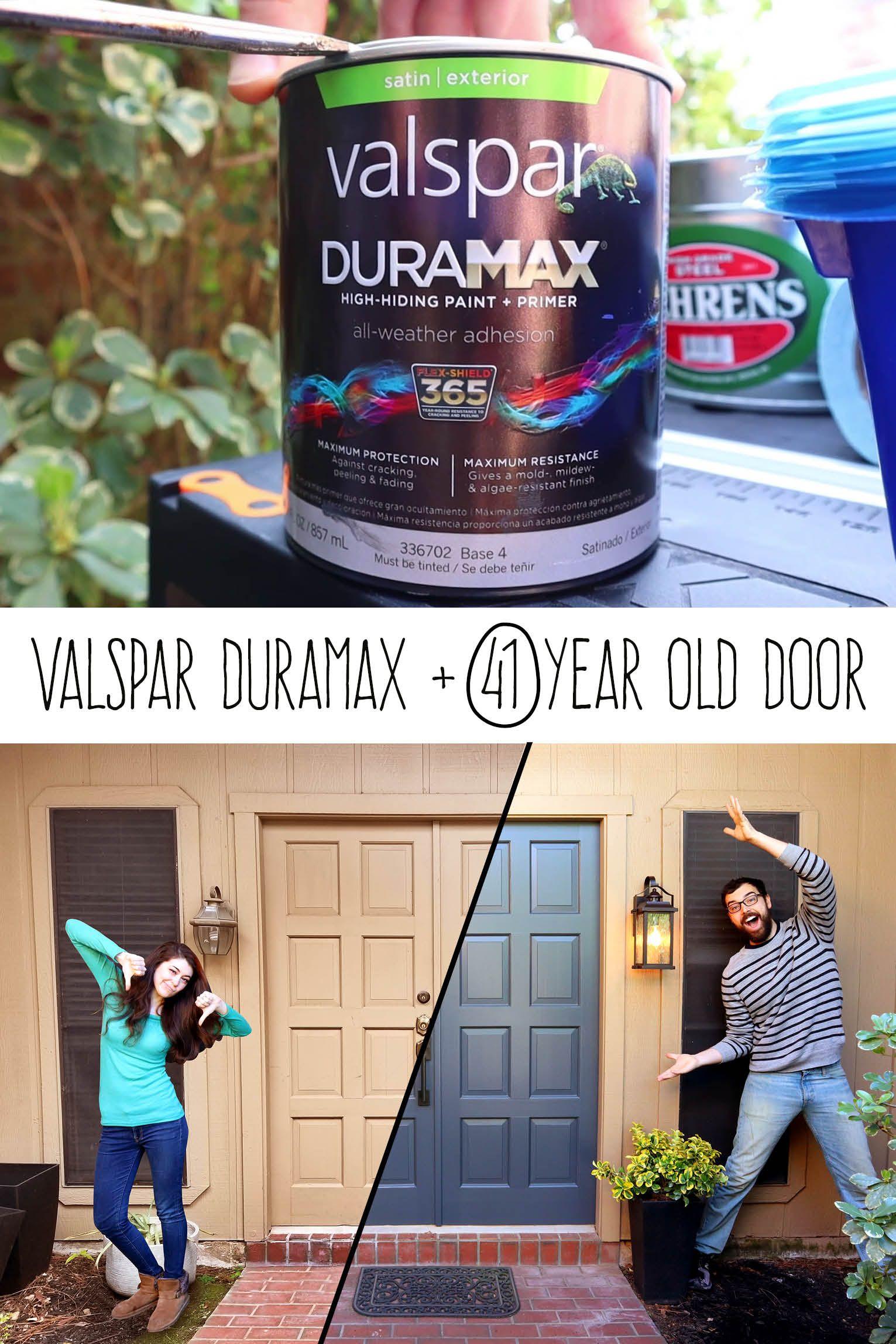 We Use Valspar Duramax In The Color Blindfold On Our Sad
