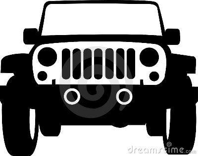 Jeep Clipart Buscar Con Google Disenos De Unas Siluetas Vinilos