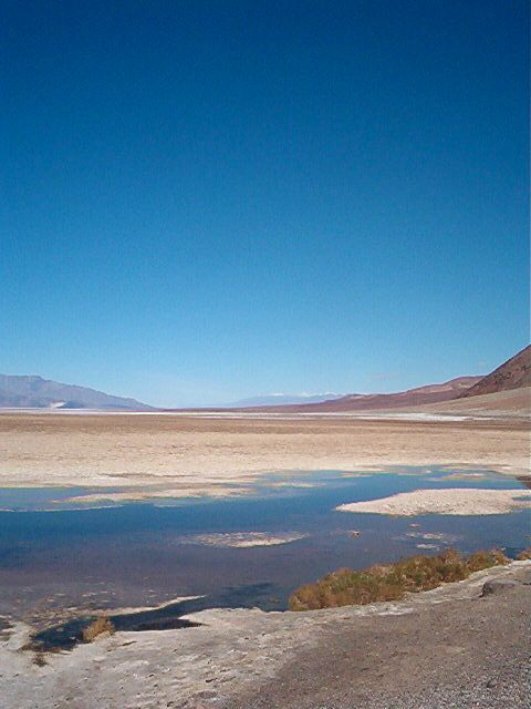 Bad Lands, Death Valley on the bike