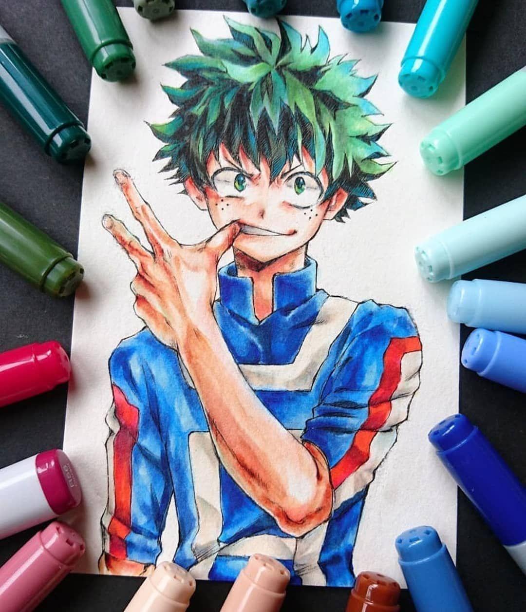 Izuku Midoriya My Hero Academia Copic Artwork From