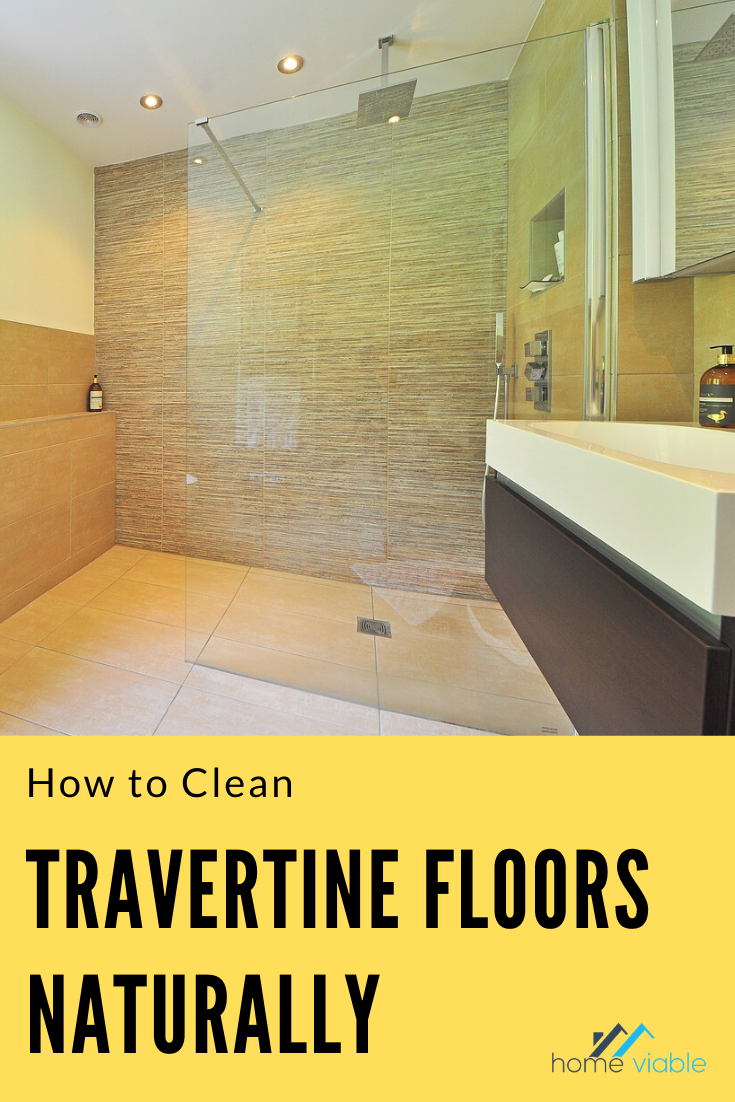 How to Clean a Travertine Shower in 2020 Travertine