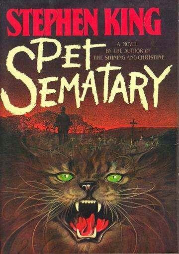 Pet Sematary Cementerio De Animales Libros De Stephen King Libros De Terror