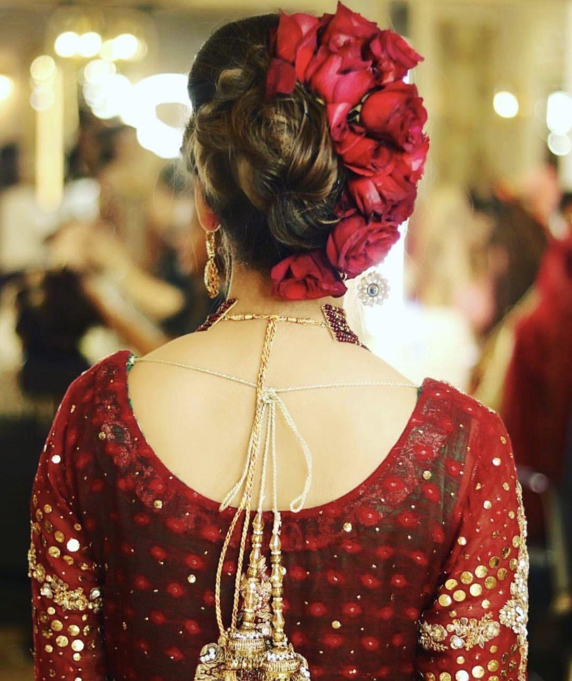 Pakistani Hairstyles Buns: Pin By Mahi Khan On Bridle