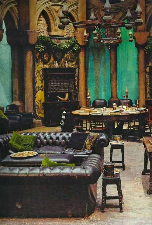Halfbloodprincestale The Slytherin Common Room Reminder How It