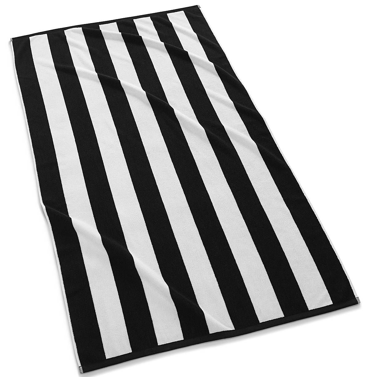 Cabana Stripe Beach Towel Black Striped Beach Towel Striped Towels Beach Towel