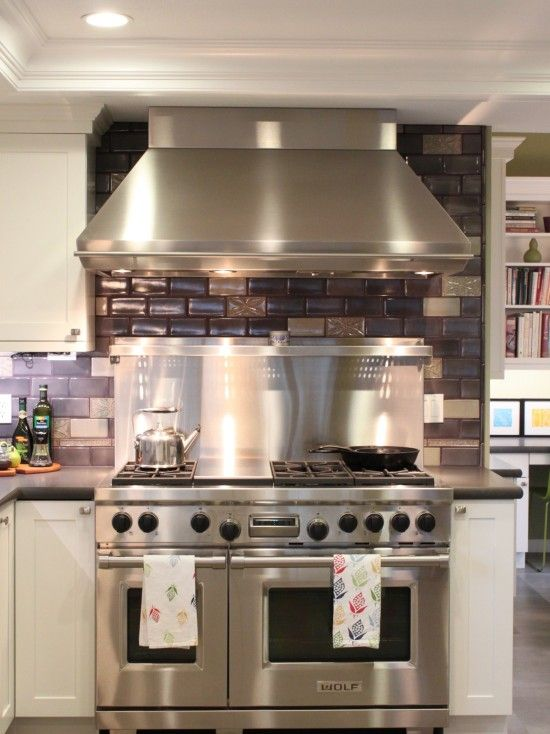 Wolf Range, Also Popular. Prefer The Black Or Stainless Steel Knobs To Red.