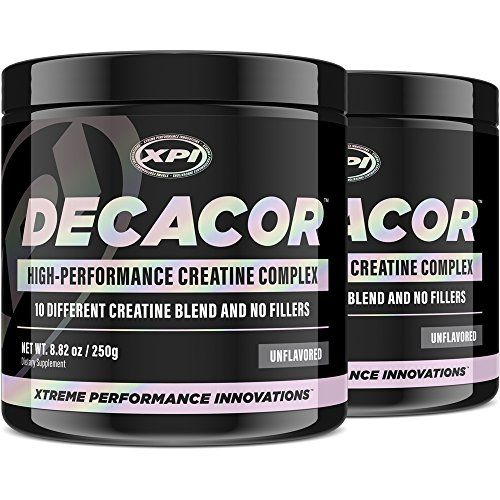 Decacor Creatine 2 Pack Best Creatine Supplements Increase Muscle Power for Better Muscle Growth