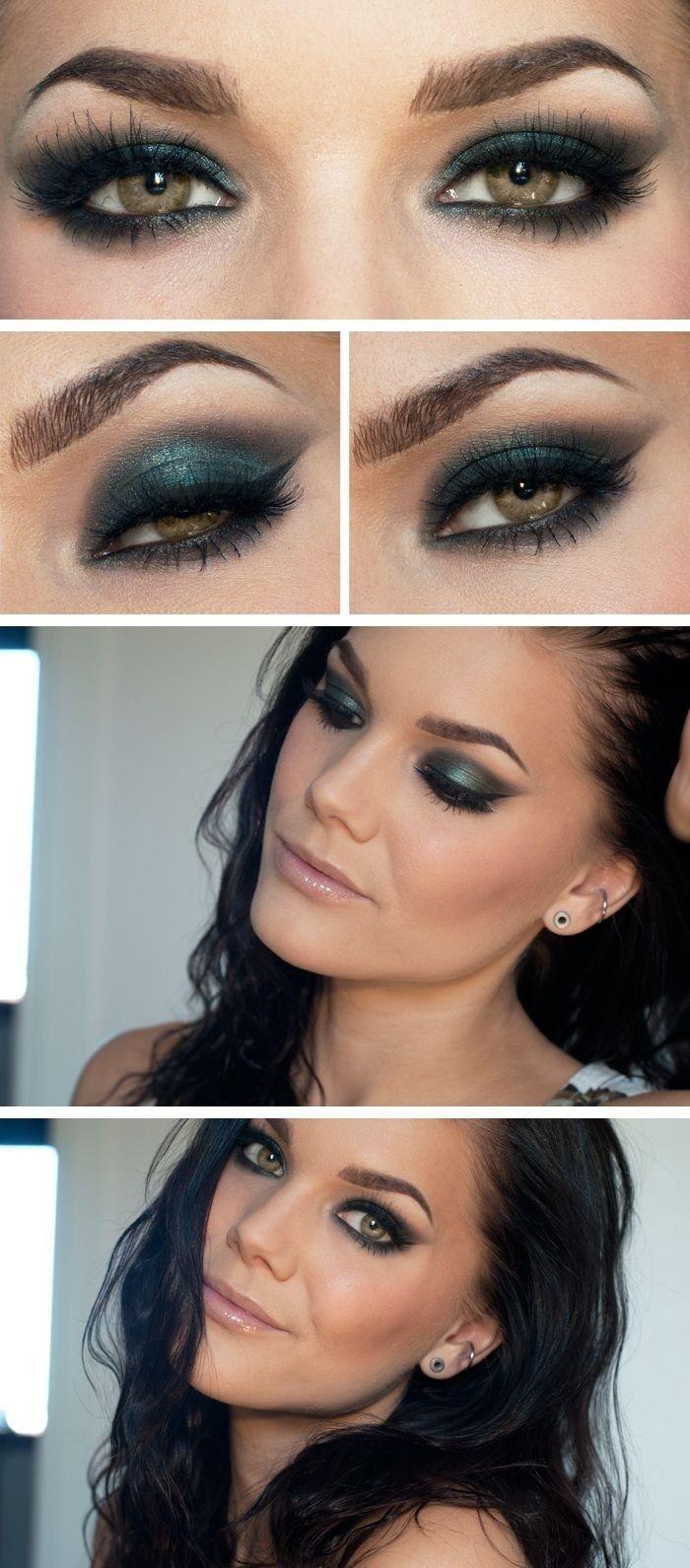 Maquiagem Para Noivas Olhos Esfumados Cabelos E