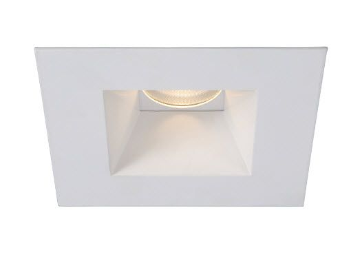 3 Inch Led Recessed Lighting Trim With Open Square Reflector Recessed Lighting Trim Led Recessed Lighting Recessed Lighting