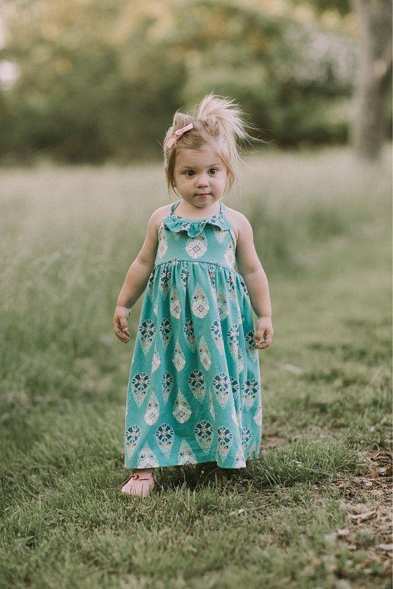 475e29a6a6454 Girls maxi dress - toddler maxi dress - girls summer maxi dress - maxi dress  for girls - summer dres