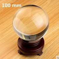 35...100mm Rare Clear Feng Shui Ball Crystal Ball Sphere Fashion Home  Decoration Glass Ball +Stand For Sale f013a66d0277