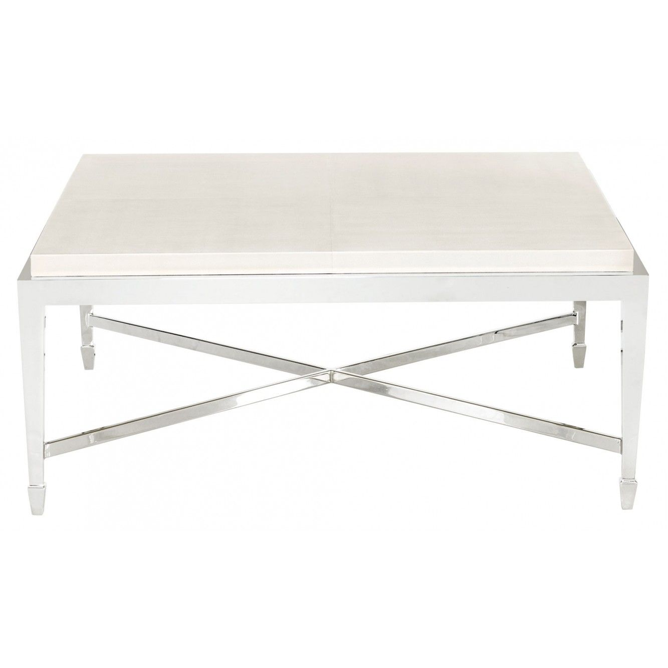 Benn square cocktail table antique white coffee table
