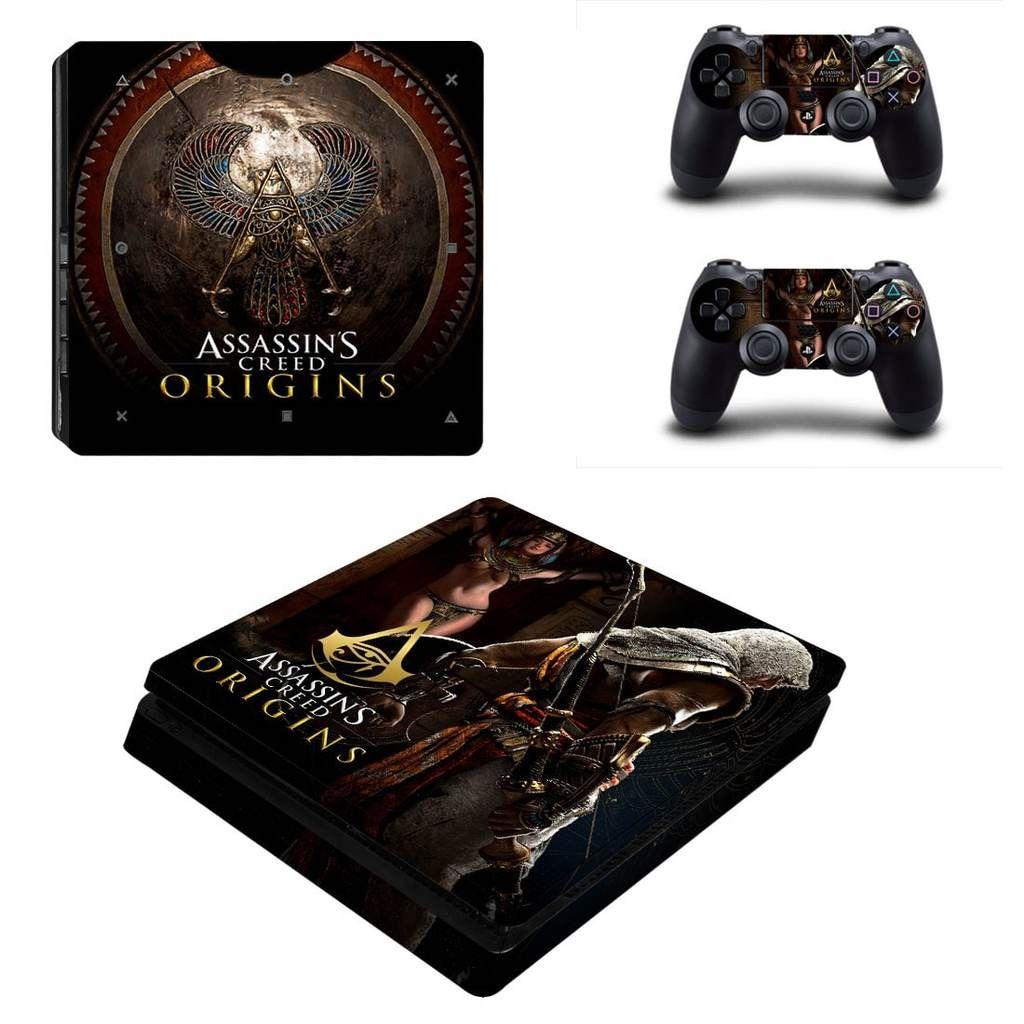 Assassin's Creed Origin Bayek Armour Shield Logo PS4 Slim
