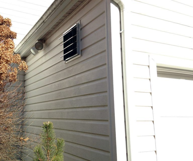 How To Install A Garage Exhaust Fan Simple Diy Instructions Exhaust Fan Garage Ventilation Garage