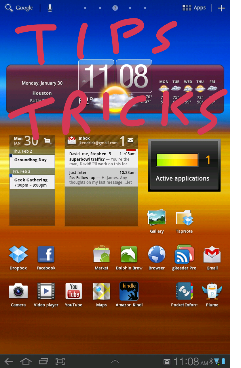 10 awesome Android tablet tips and tricks Android