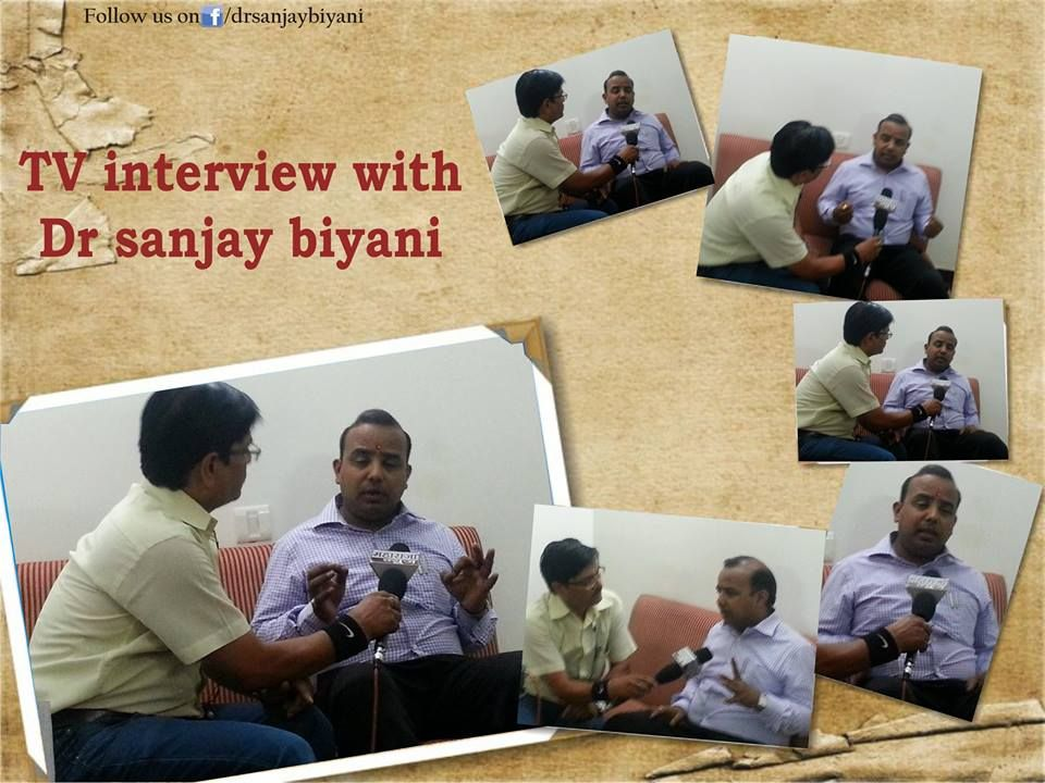Tv Interview with Dr. Sanjay Biyani