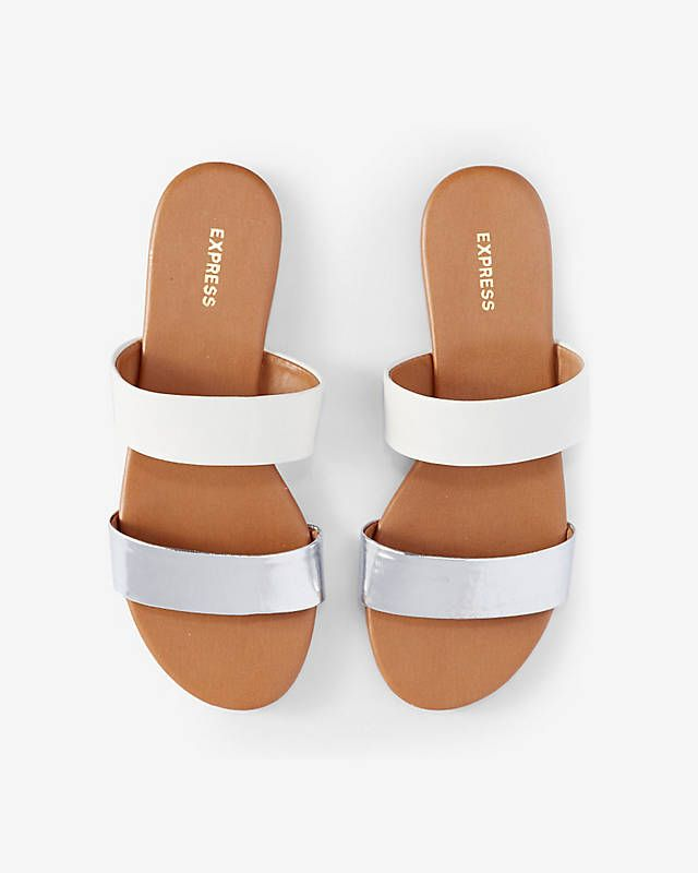 8f9065a4b Two Strap Slide Sandals from EXPRESS