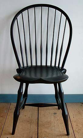 Exceptionnel Bowback Windsor Side Chair With Bamboo Legs