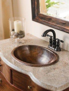 7 Ways To Decorate With Copper Copper Bathroom Primitive