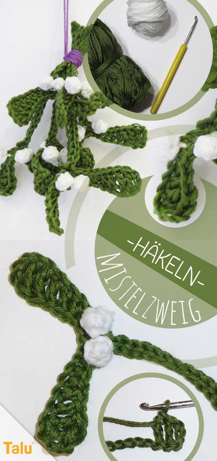 Photo of Crochet mistletoe – Christmas crochet pattern