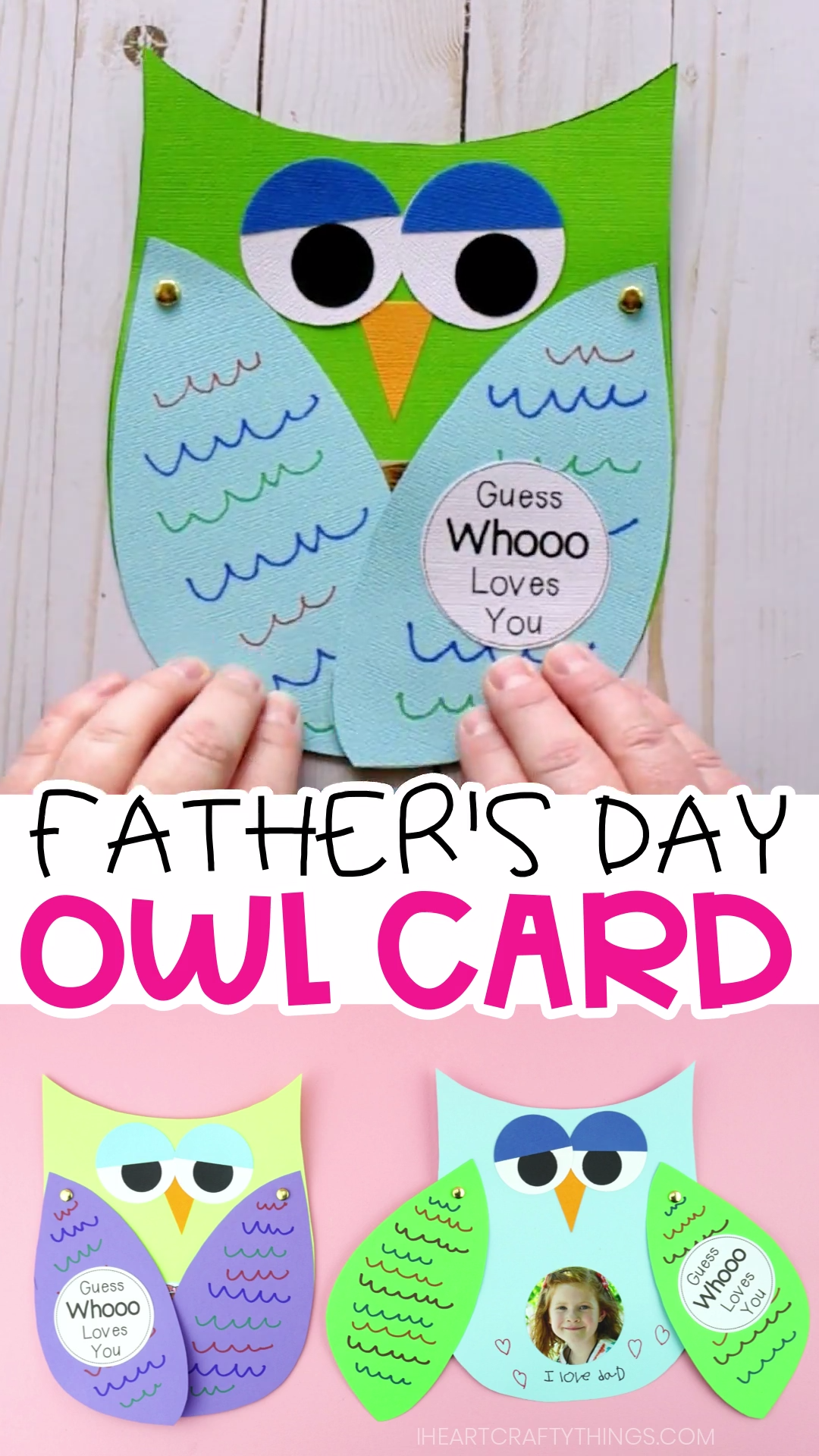 How to Make a Father's Day Owl Card