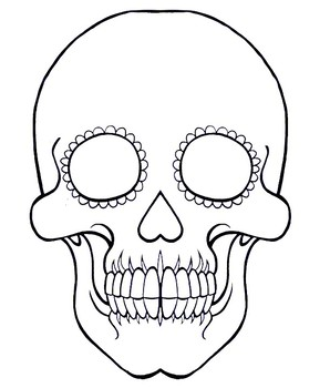 Teaching Resources Lesson Plans Teachers Pay Teachers Sugar Skull Drawing Skull Sketch Skull Coloring Pages