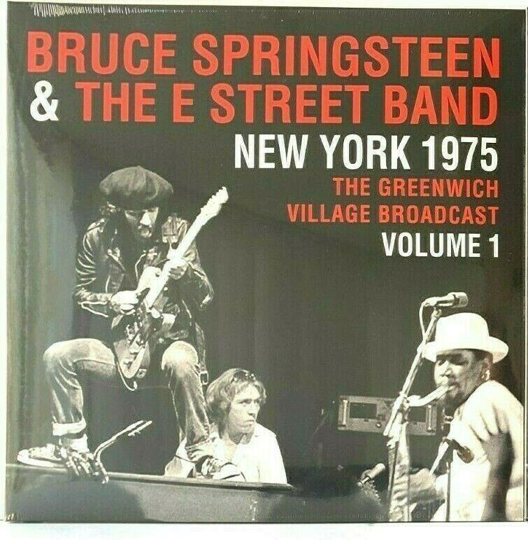 Bruce Springsteen New York 1975 Greenwich Village Broadcast Vol 1 Vinyl Record Greenwichvillage Brucespring In 2020 Bruce Springsteen Greenwich Village E Street Band